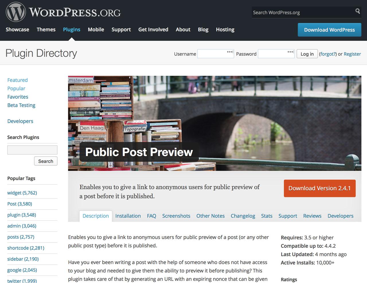 wordpress-public-post-preview-top