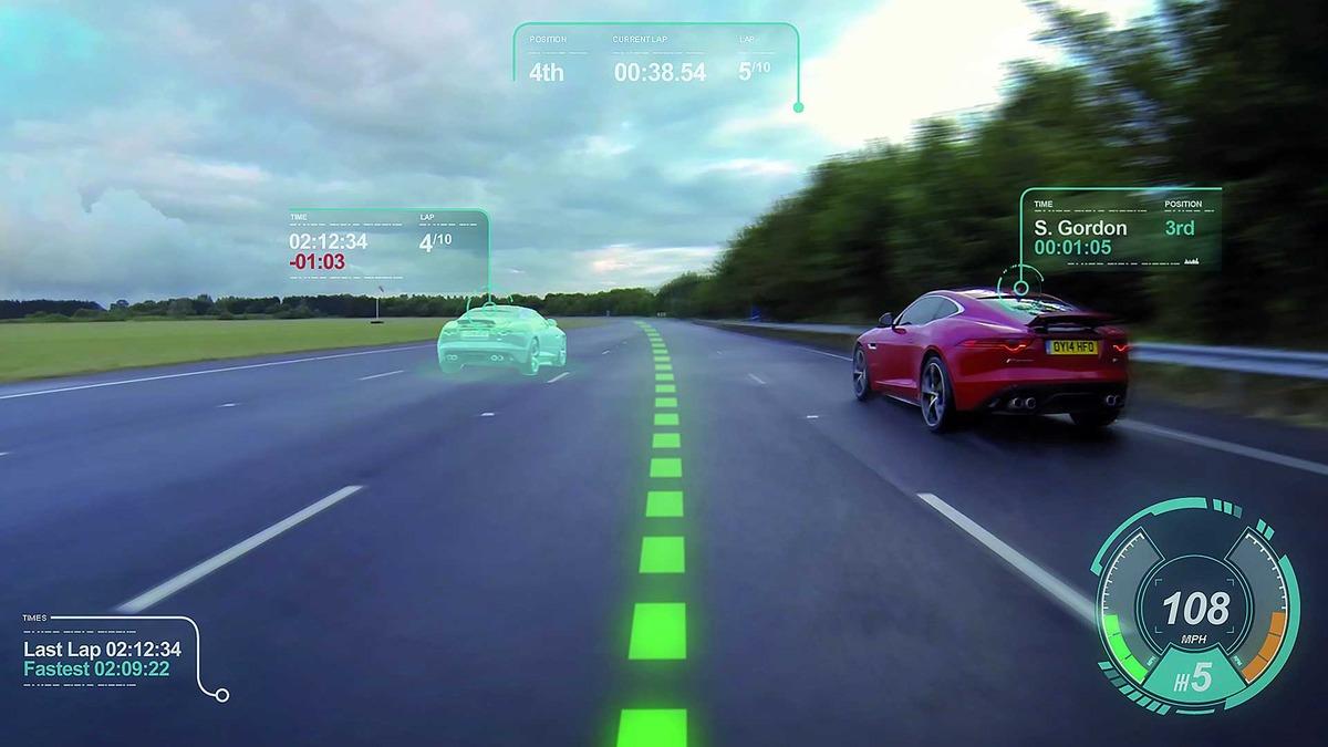 Jaguar, Land Rover, HUD, Concept