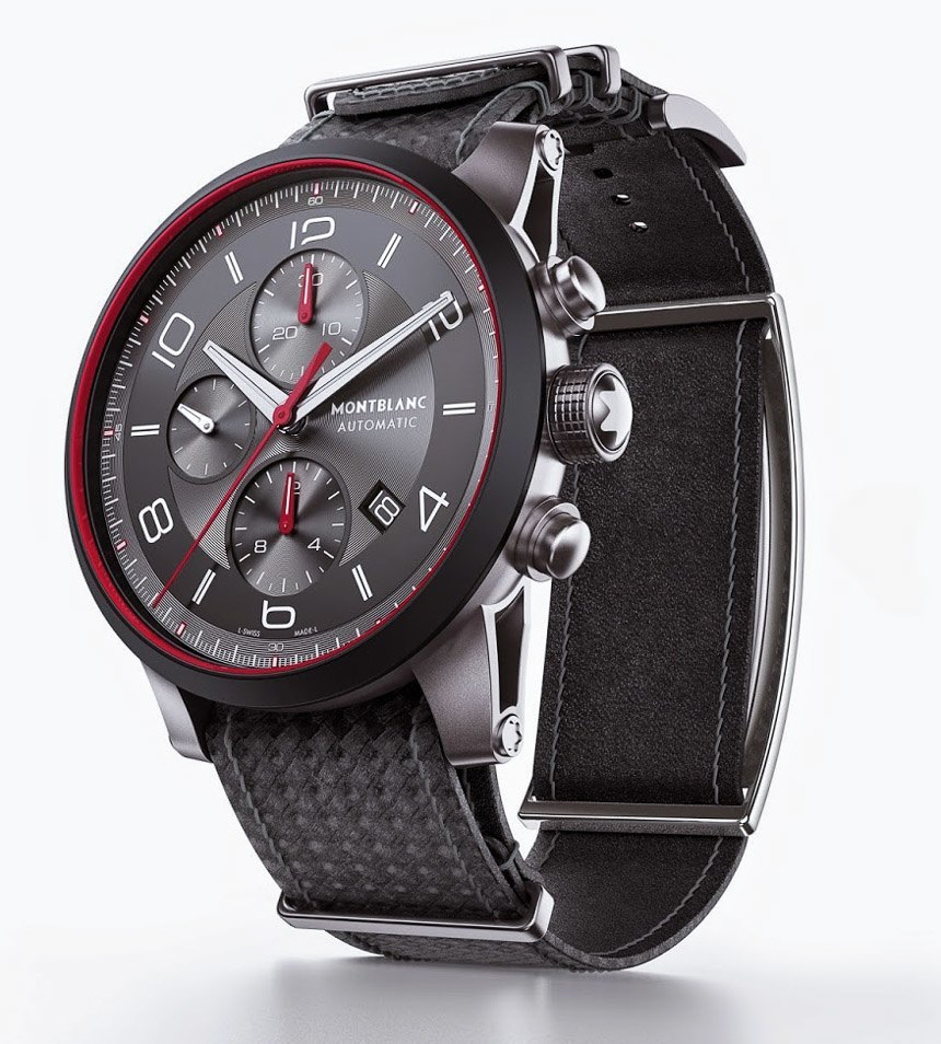 montblanc e strap combines smart wearable device