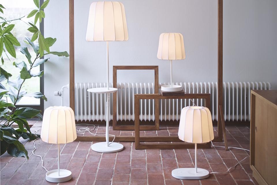 ikea furniture table lamp qi wireless charging