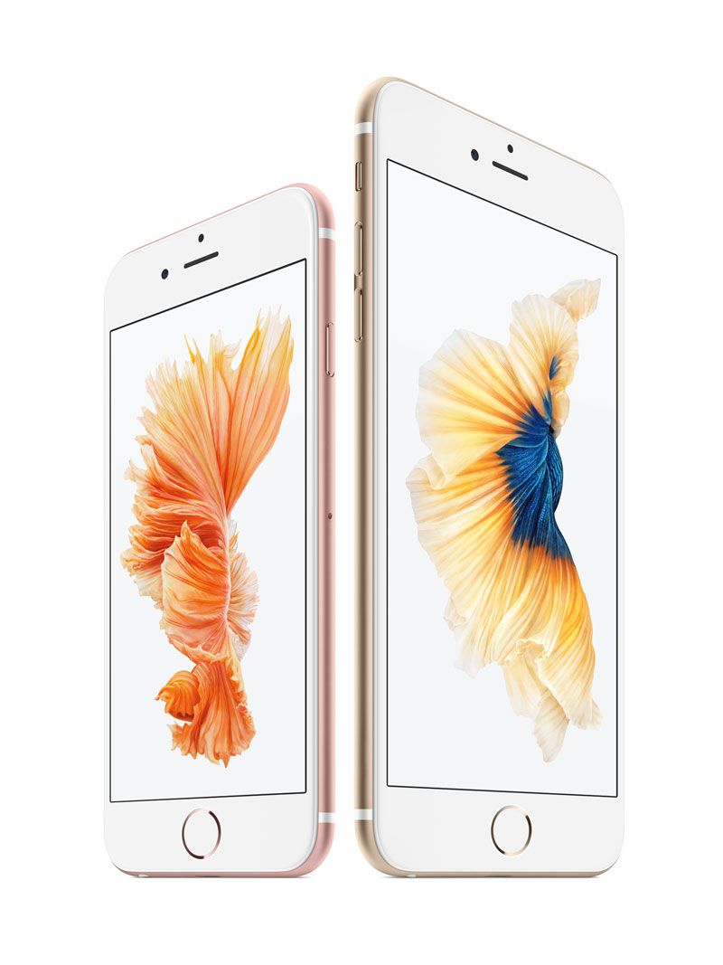 apple announced iPhone 6s plus 12m pixel isight camera 3d touch