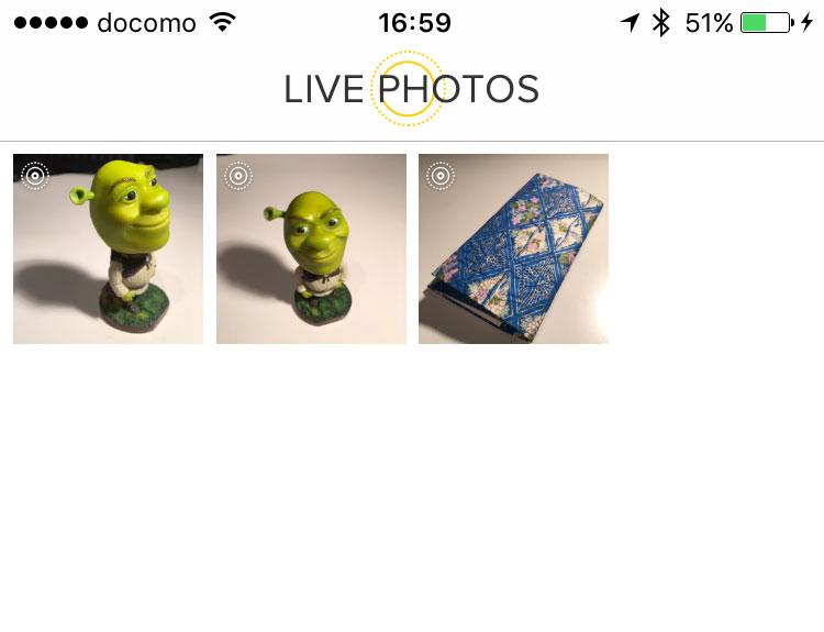 iPhone 6s live photos animation gif converter live gif