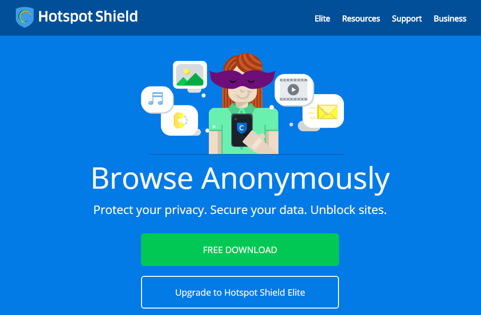 Visit any website proxy