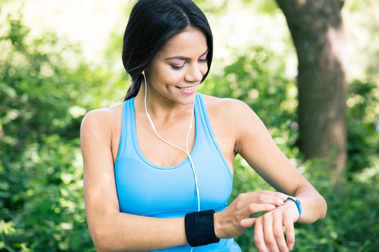 jogging-wearable-device