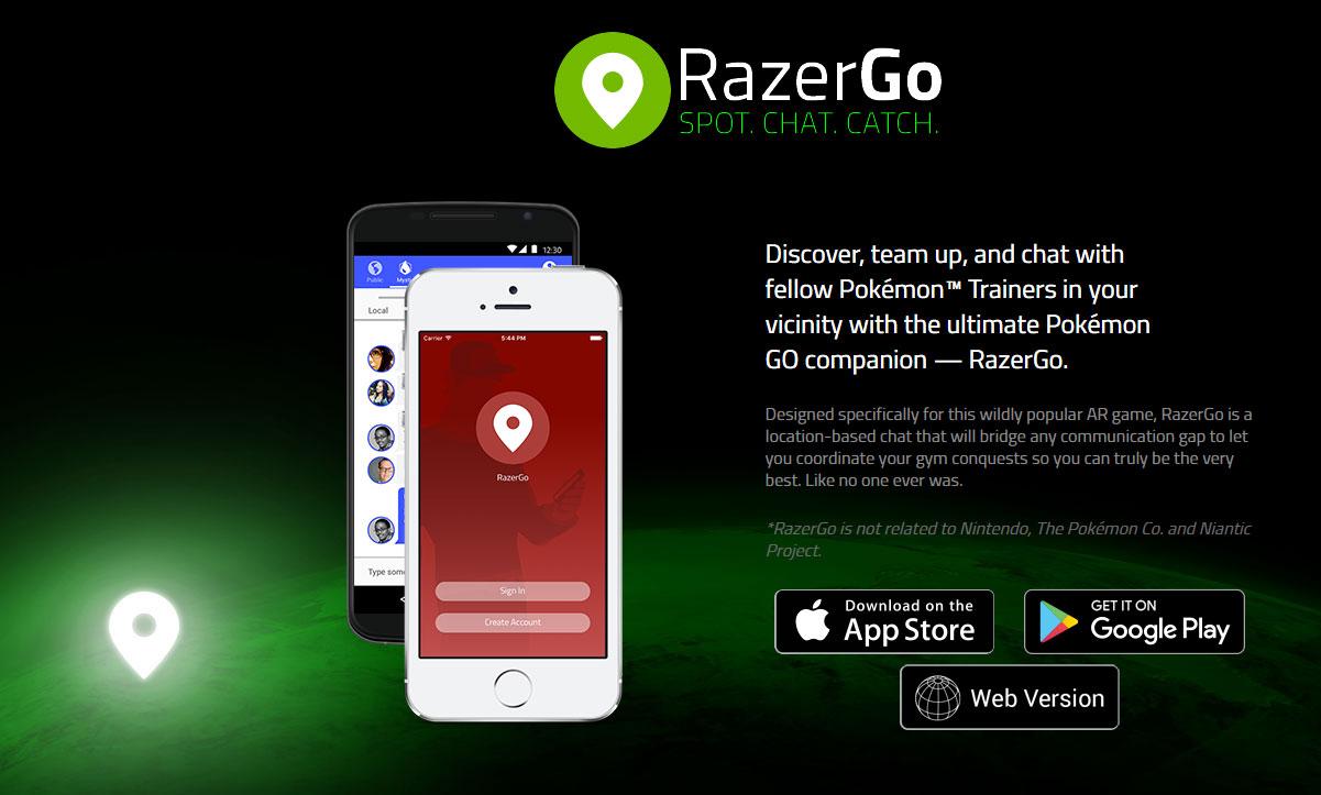 ポケモントレーナー同士のチャットアプリ、razergoが大人気!レア