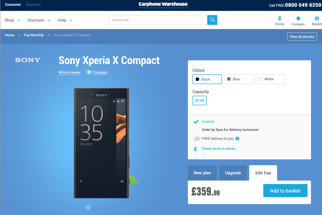 xperia-x-compact-in-uk