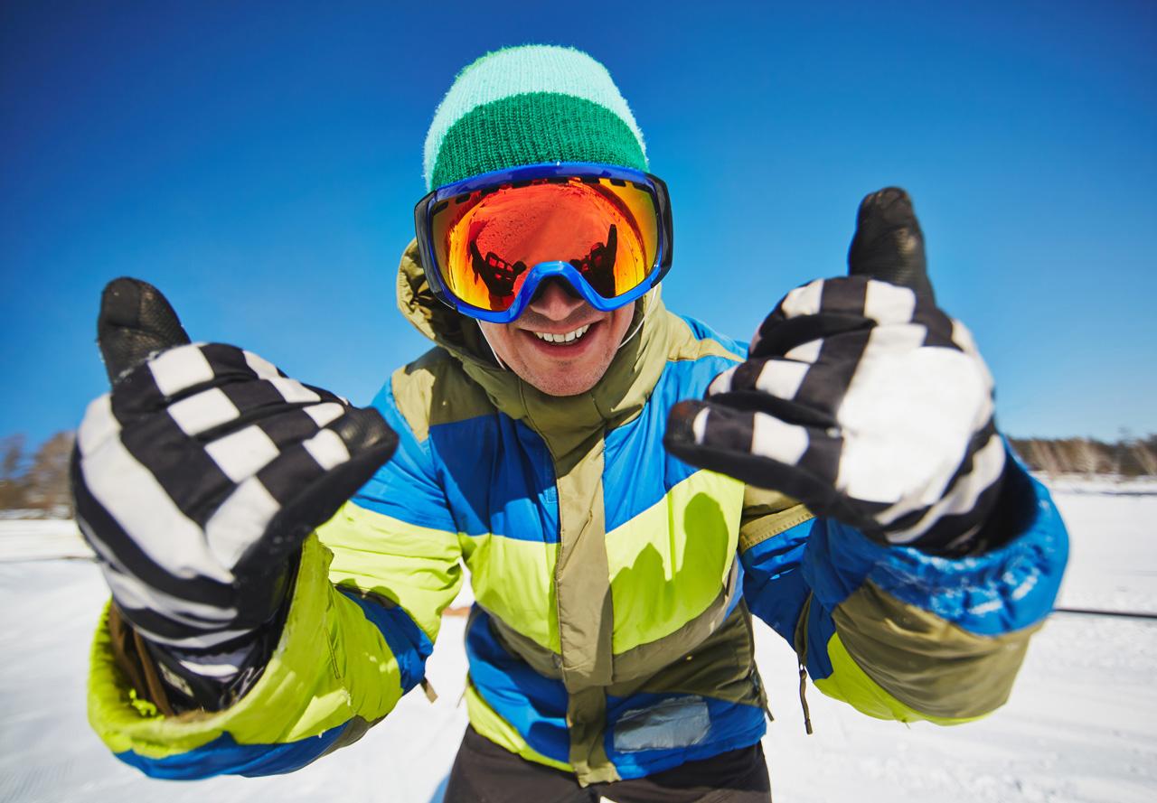 snowboard-snow-glove